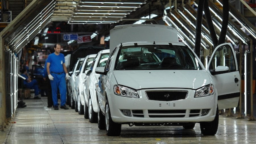 West Coast Auto Sales >> Iran: 2013 car market recovered 17% of sales and 100% of ...