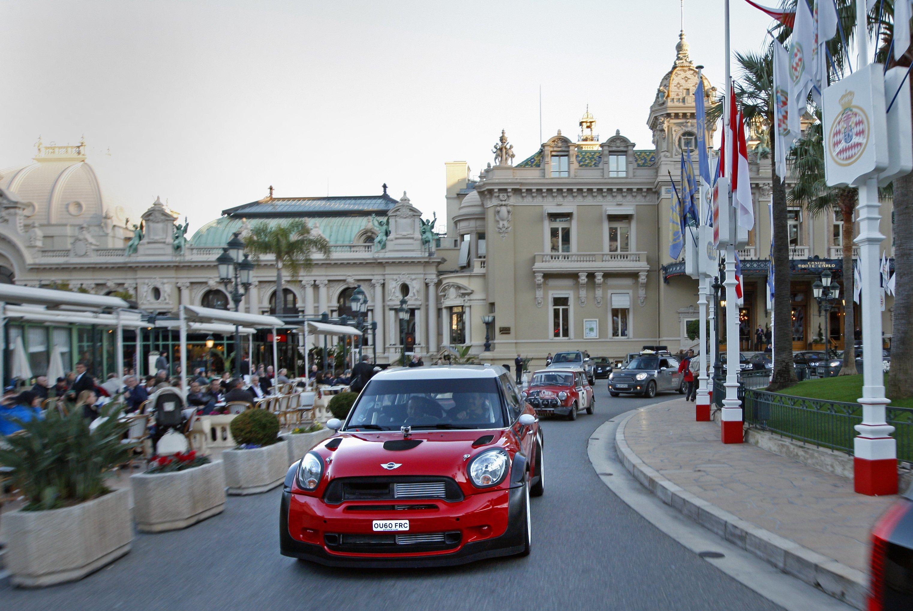 Monaco car passengers